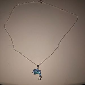 Other - Beautiful Crystal Dolphin Necklace